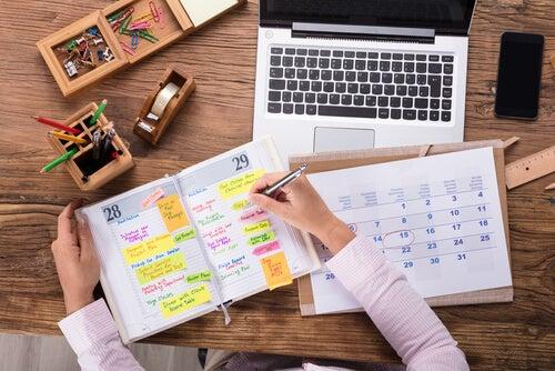 Agenda planificadora