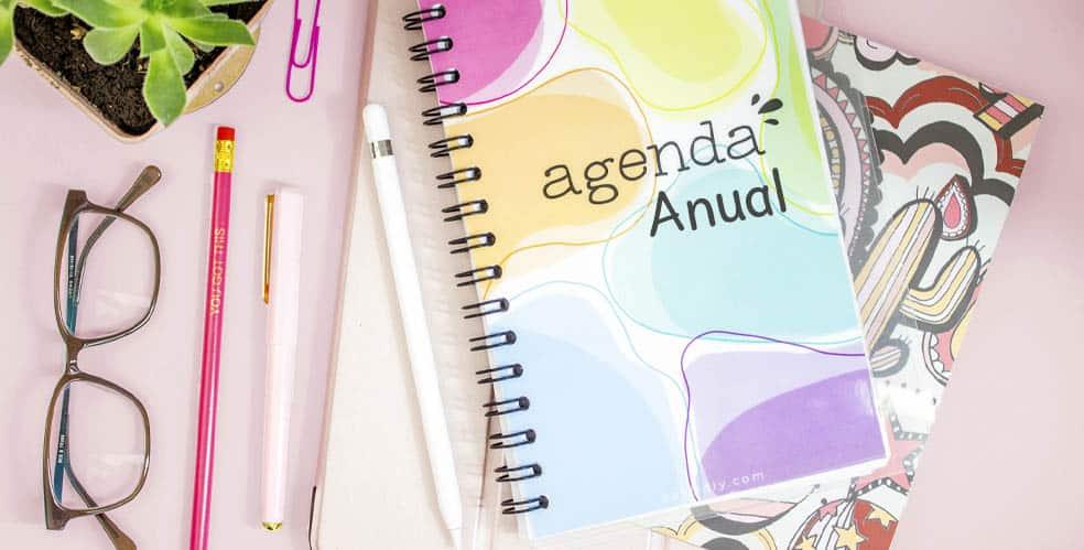 Todos los tipos de agendas anuales 2021 están en agendas.online