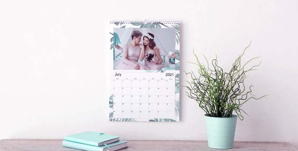 Calendario de pared para planificar 12 meses a tope