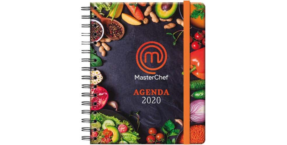 Portada Agenda 2020 Masterchef